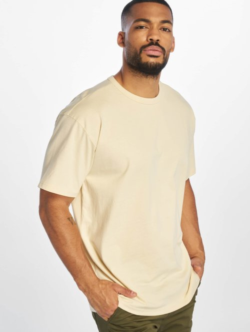 Urban Classics Camiseta Oversized beis
