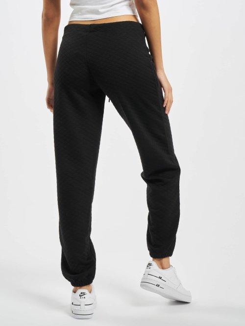 Urban Classics Jogginghose Quilt schwarz