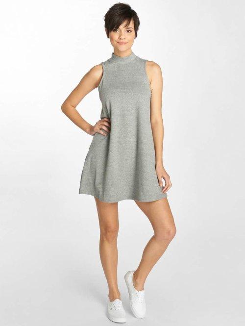 Urban Classics jurk A-Line grijs