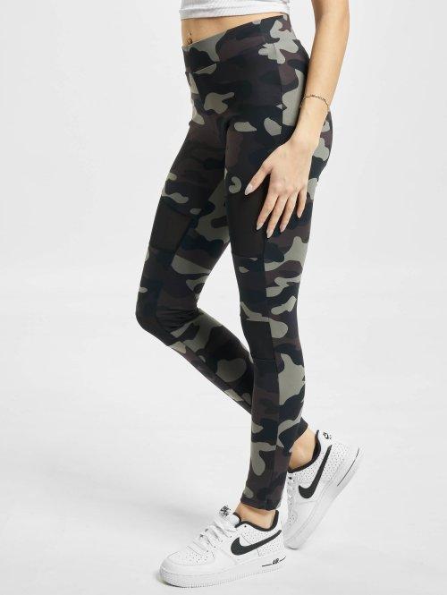 Urban Classics Legging Camo Tech Mesh camouflage
