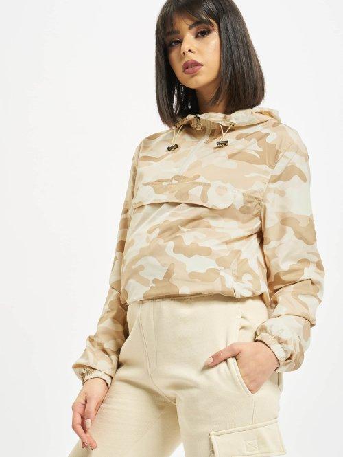 Urban Classics Overgangsjakker Camo camouflage