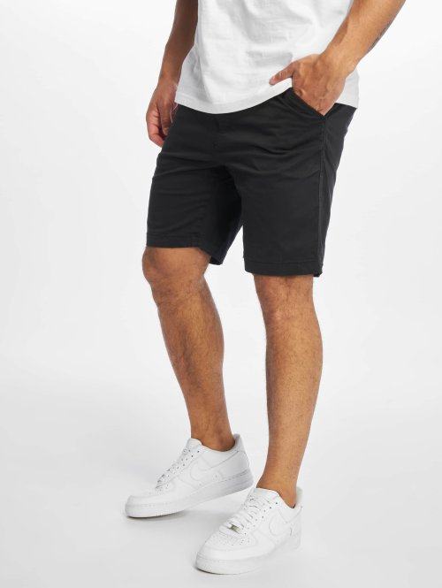 Urban Classics Pantalón cortos Hobart Stretch Twill negro