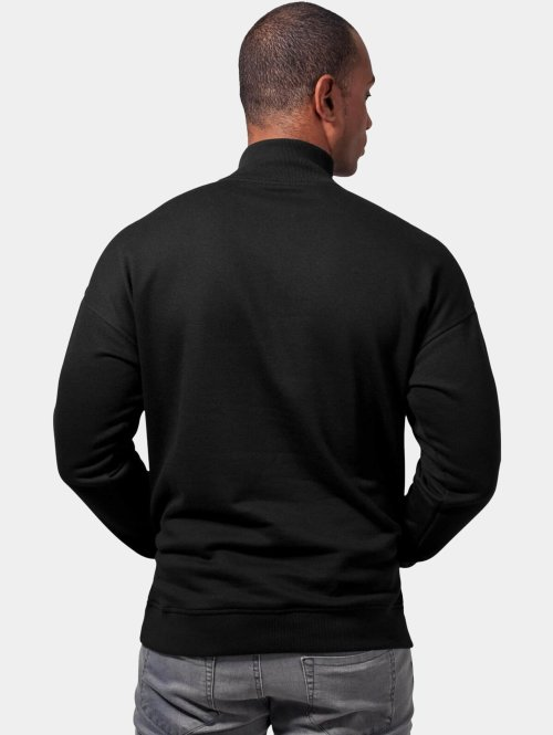 Urban Classics Pullover Sweat Troyer schwarz