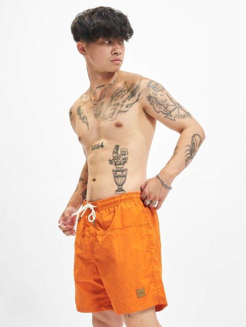 Urban Classics Short de bain Block orange