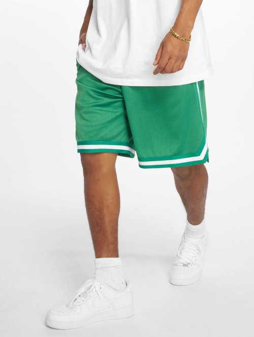 Urban Classics Shorts Stripes Mesh grön