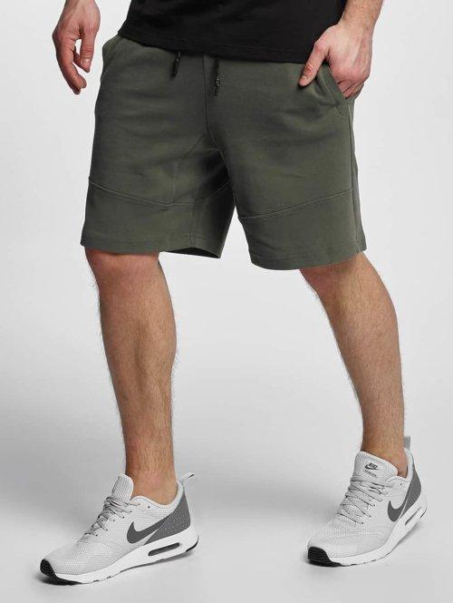 Urban Classics shorts Interlock olijfgroen