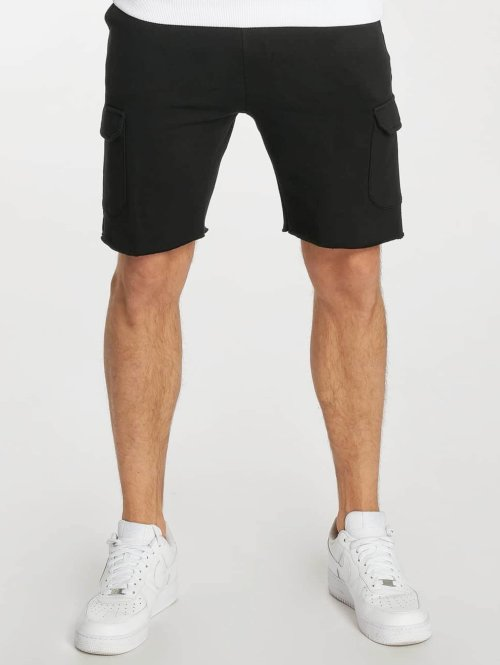Urban Classics Shorts Open Edge Terry schwarz