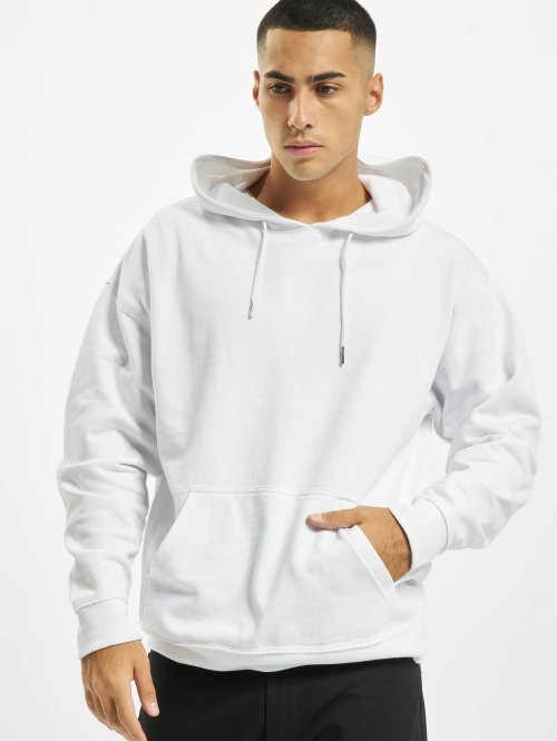 Urban Classics Sweat capuche Oversized blanc