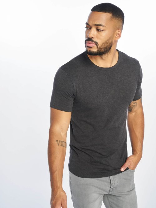 Urban Classics T-paidat Fitted Stretch harmaa