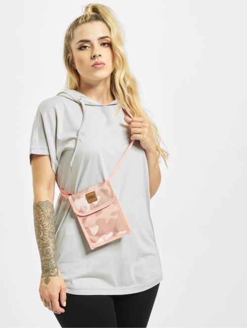 Urban Classics T-paidat Jersey Hooded harmaa