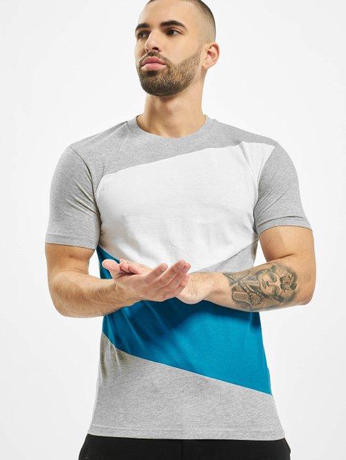 Urban Classics T-shirt Zig Zag grå