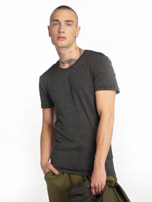 Urban Classics T-Shirt Active Melange grau