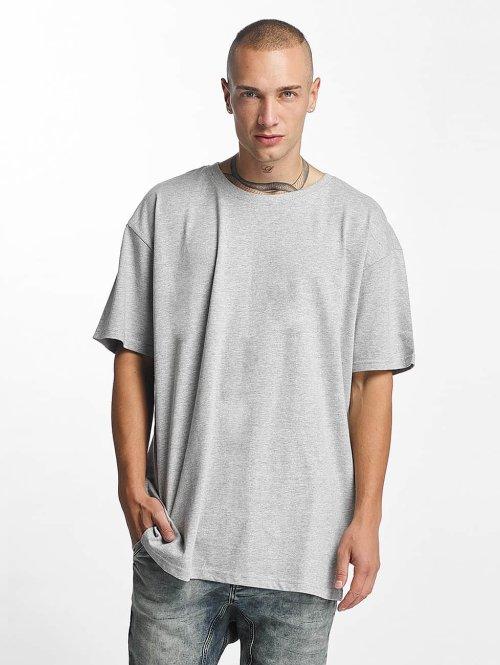 Urban Classics T-Shirt Heavy Oversized gris