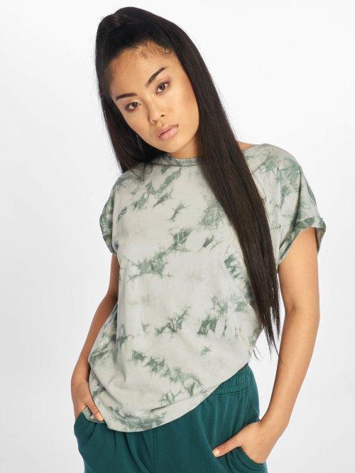 Urban Classics T-Shirt Batic Extended grün