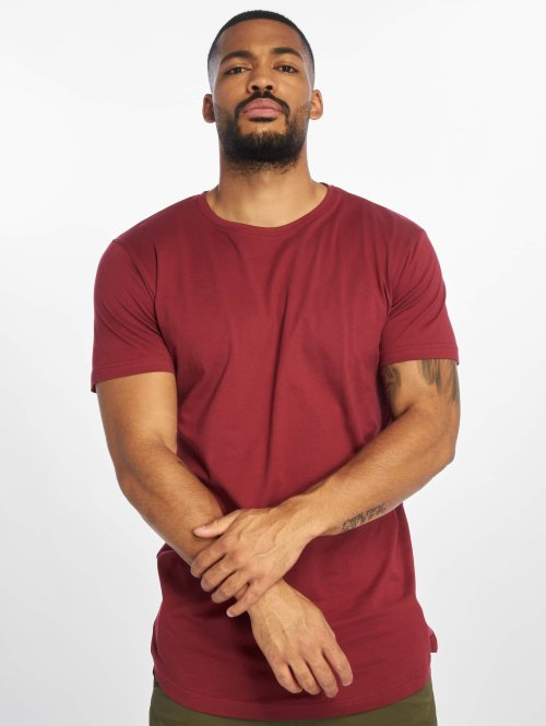 Urban Classics t-shirt Shaped Long rood
