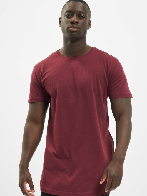 Urban Classics t-shirt Shaped Oversized Long rood