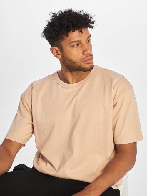 Urban Classics T-shirt Oversized rosa chiaro