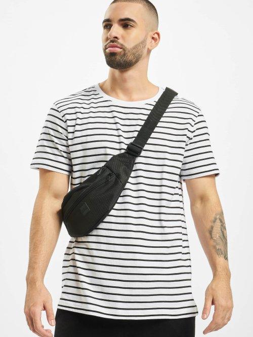 Urban Classics t-shirt Striped wit