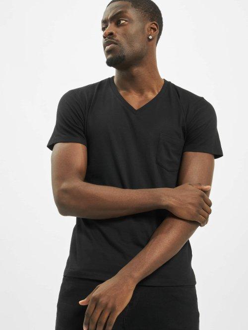 Urban Classics t-shirt Pocket zwart