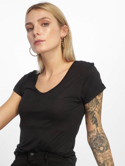 Urban Classics t-shirt Ladies Basic Viscose zwart