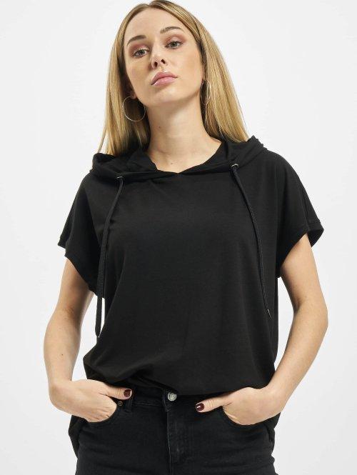 Urban Classics t-shirt Jersey Hooded zwart