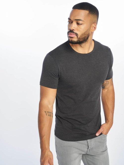 Urban Classics T-shirts Fitted Stretch grå