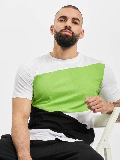 Urban Classics T-shirts Zig Zag hvid