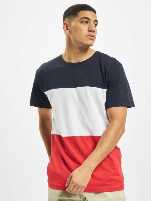 Urban Classics T-shirts Color Block rød