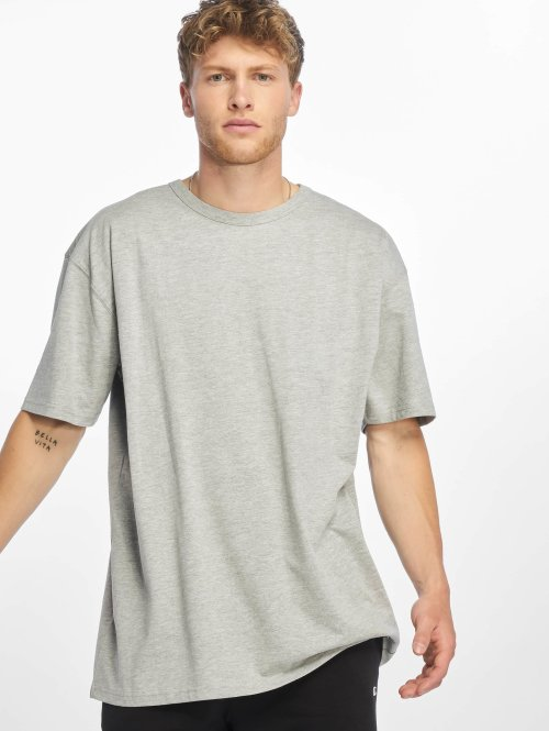 Urban Classics T-Shirty Oversized szary