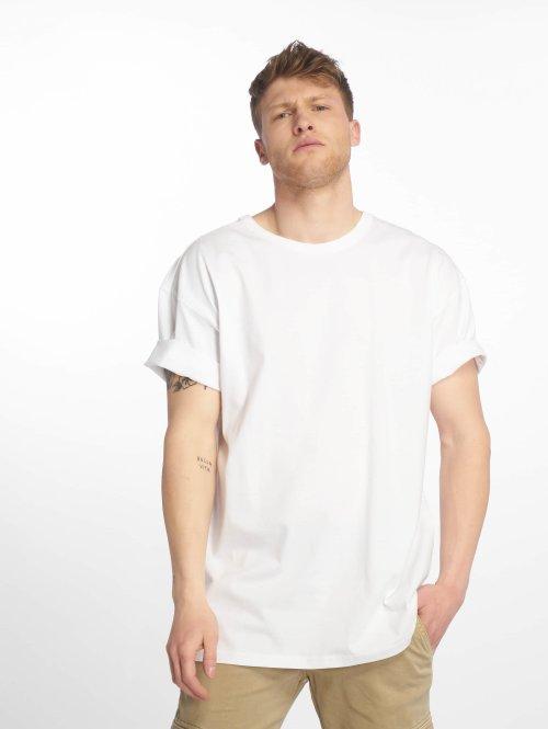 Urban Classics Tričká Oversized biela