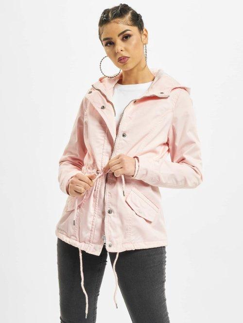 Urban Classics Übergangsjacke Basic rosa