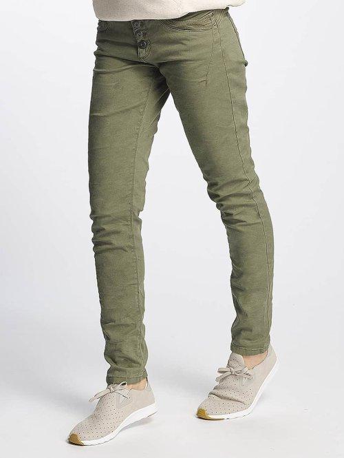 Urban Surface Slim Fit Jeans Vittoria olijfgroen