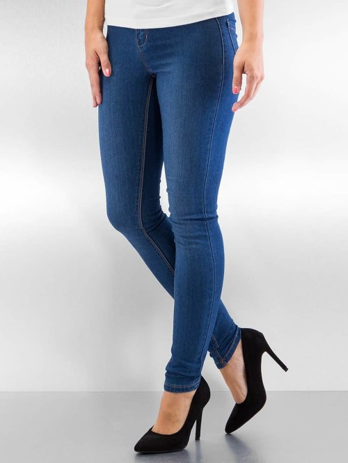 Vero Moda Skinny Jeans vmFlex-It blau