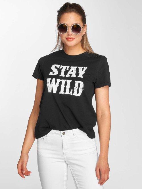 Vero Moda T-Shirt vmWild schwarz