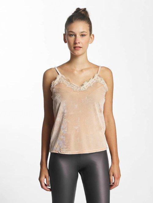 Vero Moda Top vmAnjela Velvet Singlet rosa