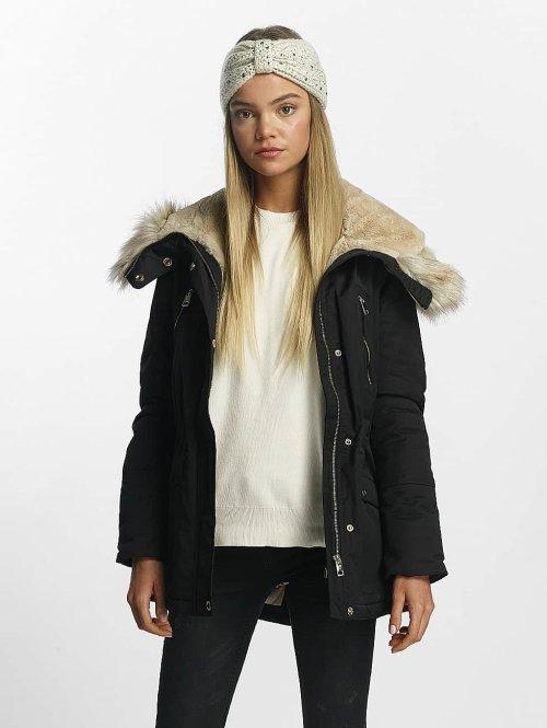 Vero Moda winterjas vmMandri zwart