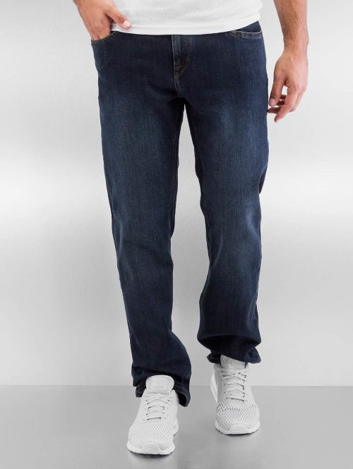 Volcom Straight Fit Jeans Solver Denim blau