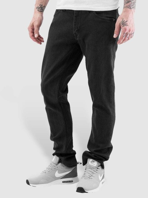 Volcom Straight Fit Jeans Vorta Denim schwarz