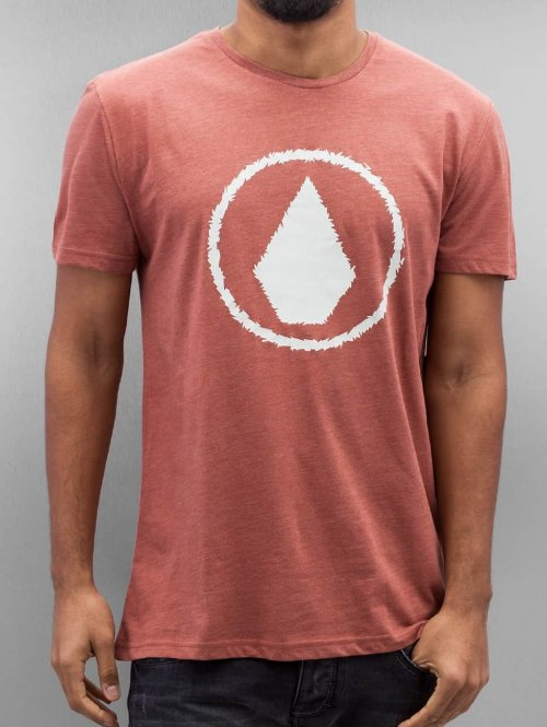 Volcom T-paidat Jag punainen