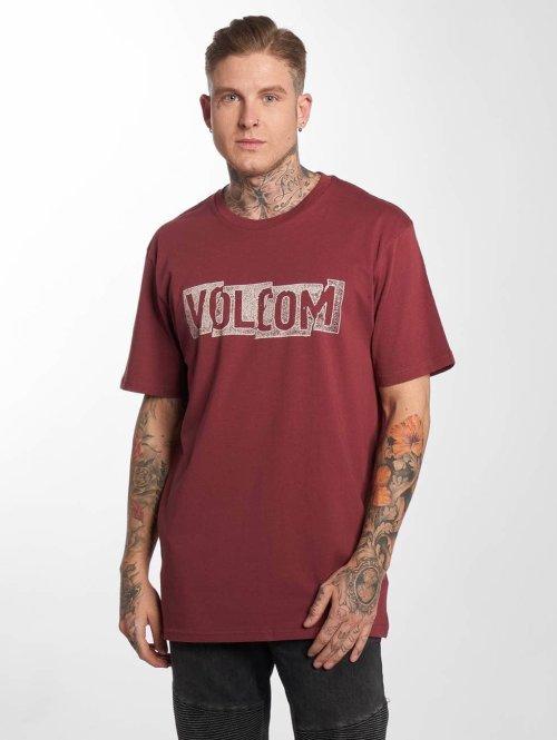 Volcom T-paidat Edge Basic punainen