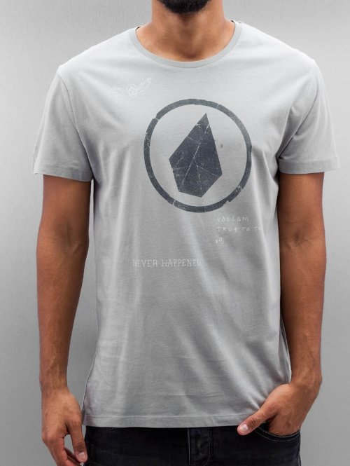 Volcom T-Shirt Zineone grau