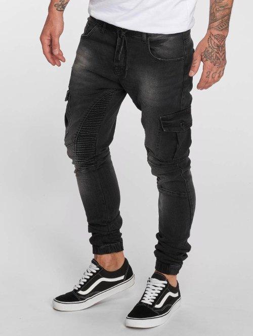 VSCT Clubwear Antifit jeans Noah svart