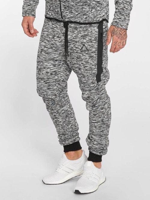 VSCT Clubwear Jogginghose Melange Techfleece grau
