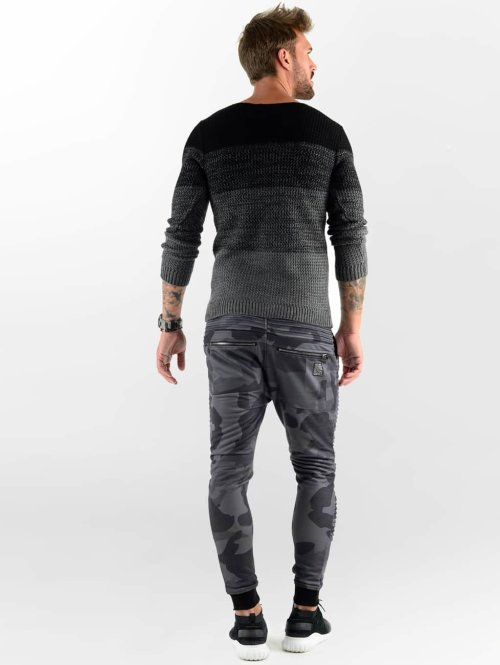 VSCT Clubwear Jogginghose Biker schwarz