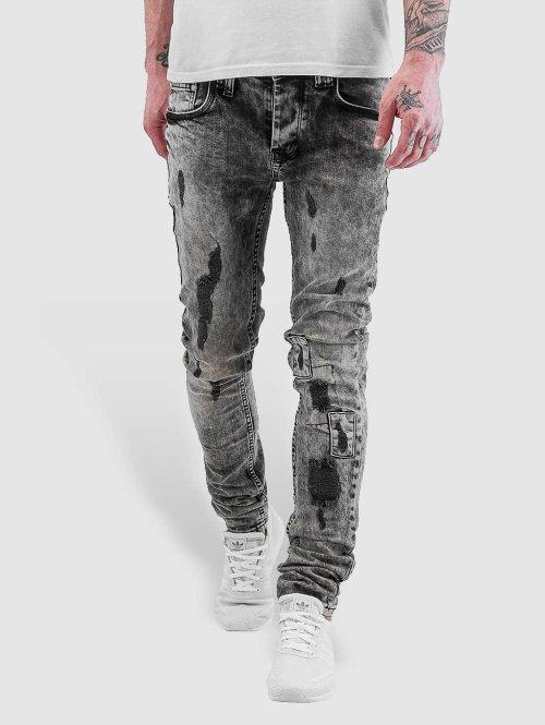 VSCT Clubwear Skinny Jeans Alec Slim 5 Pocket schwarz