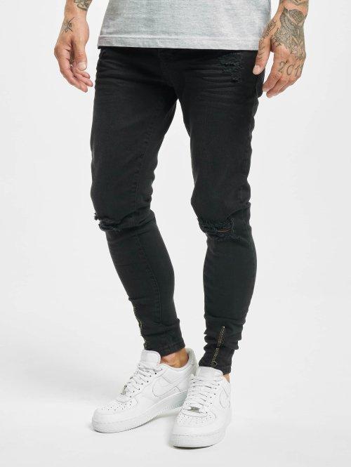 VSCT Clubwear Slim Fit Jeans Keanu schwarz