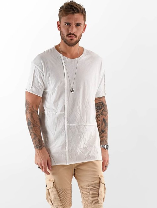 VSCT Clubwear T-shirt Cubic Round bianco