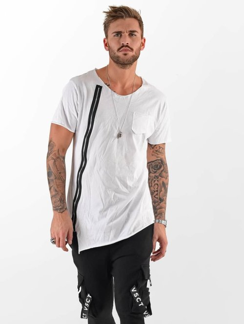 VSCT Clubwear T-shirt Laser Cut bianco