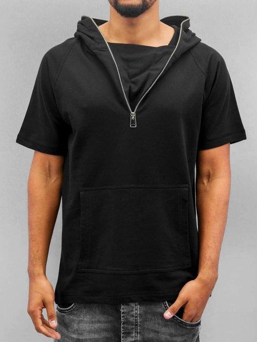VSCT Clubwear T-Shirt Hooded Athletic schwarz