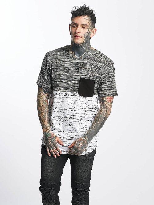 VSCT Clubwear T-shirt 3-C Moulinee Knit vit